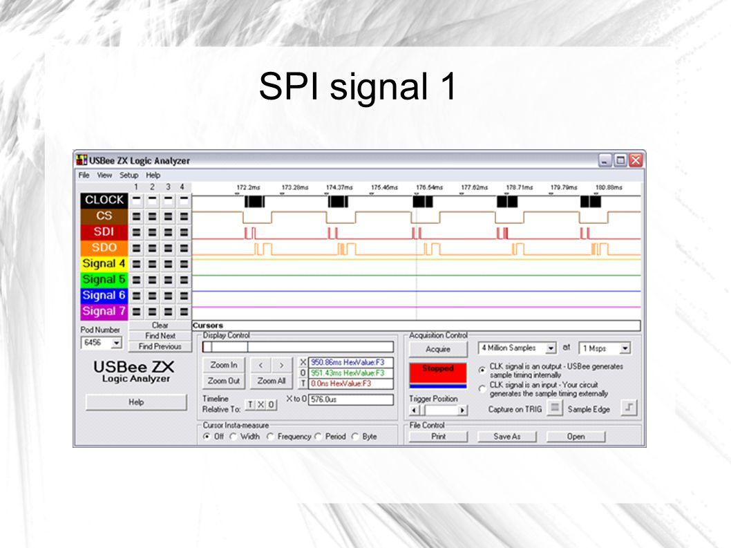 SPI signal 1