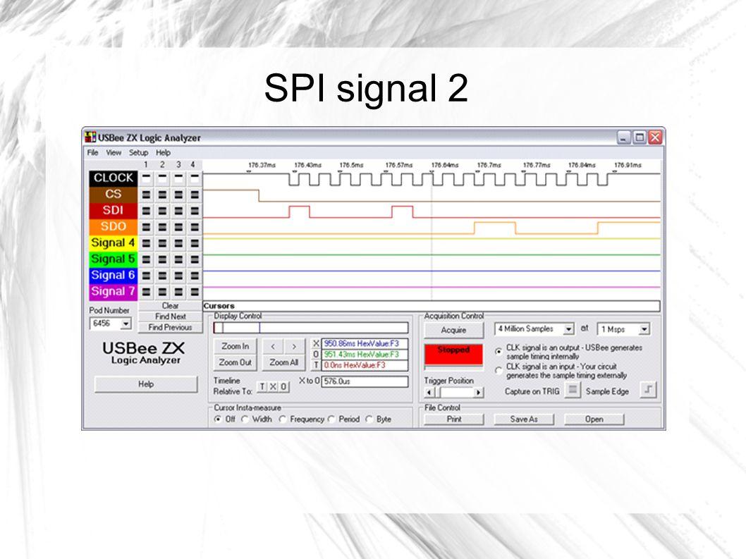 SPI signal 2