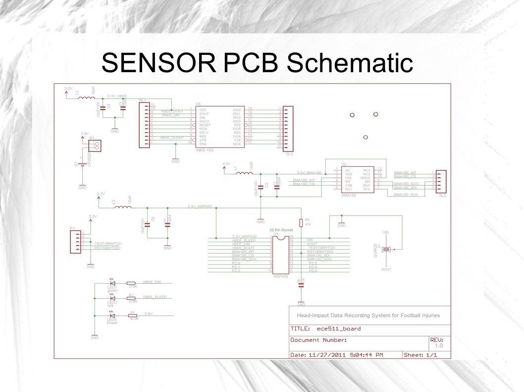 SENSOR PCB Schematic