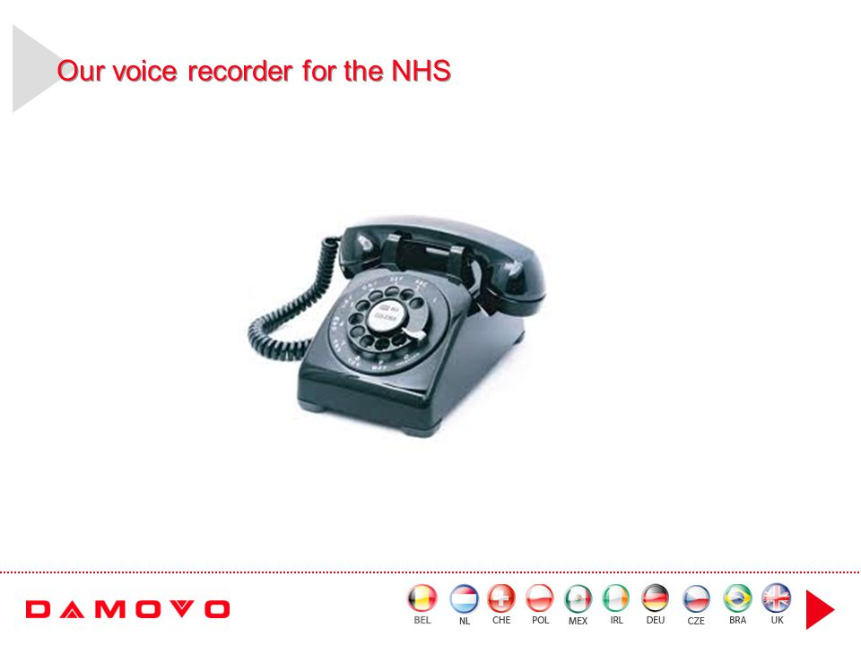 Our voice recorder for the NHS