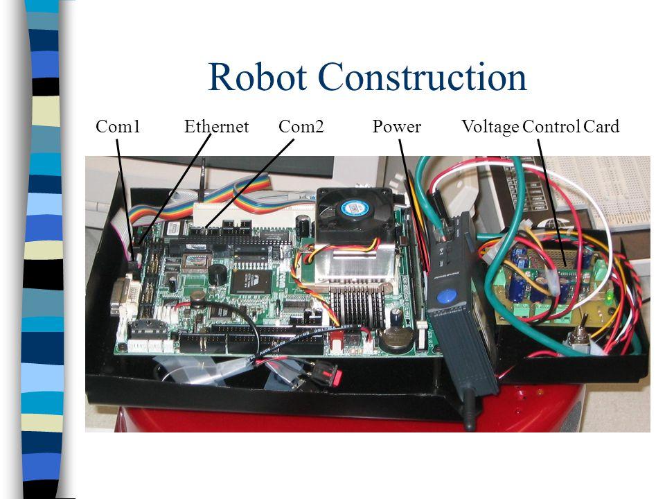 Robot Construction Com1EthernetPowerVoltage Control CardCom2