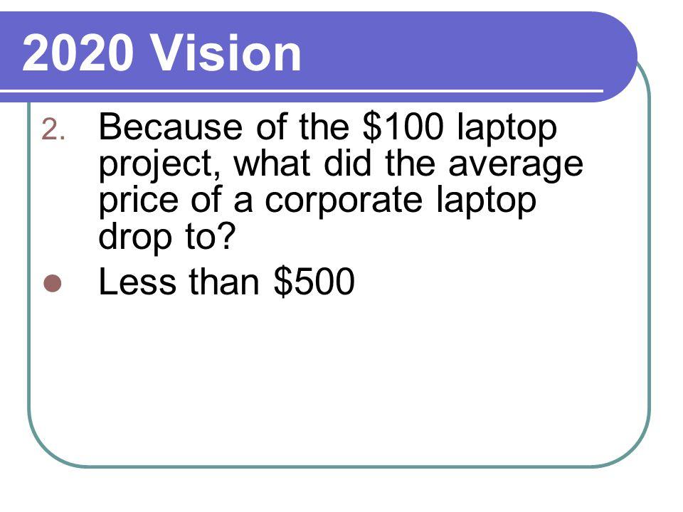 2020 Vision 2.