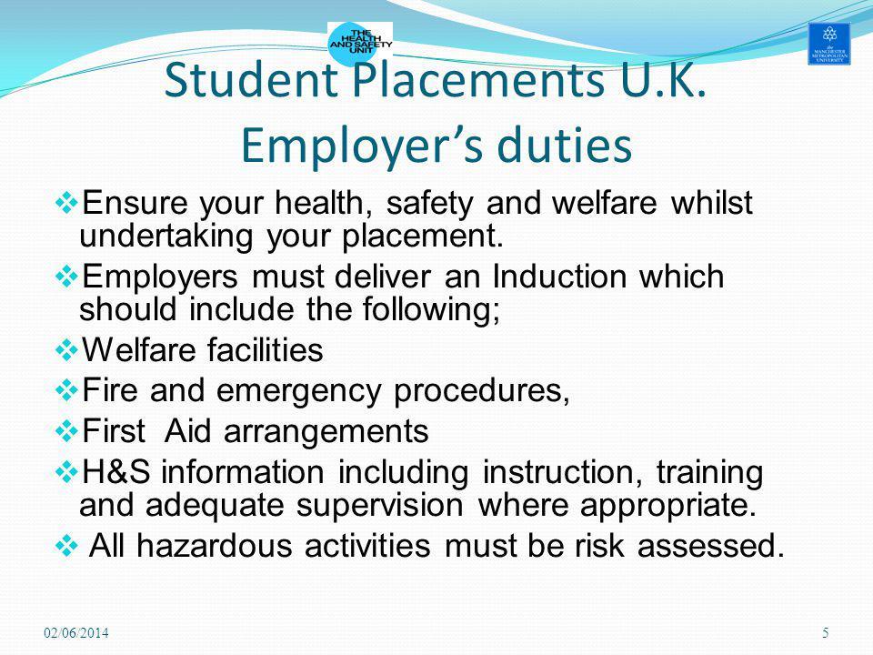 Student Placements U.K.