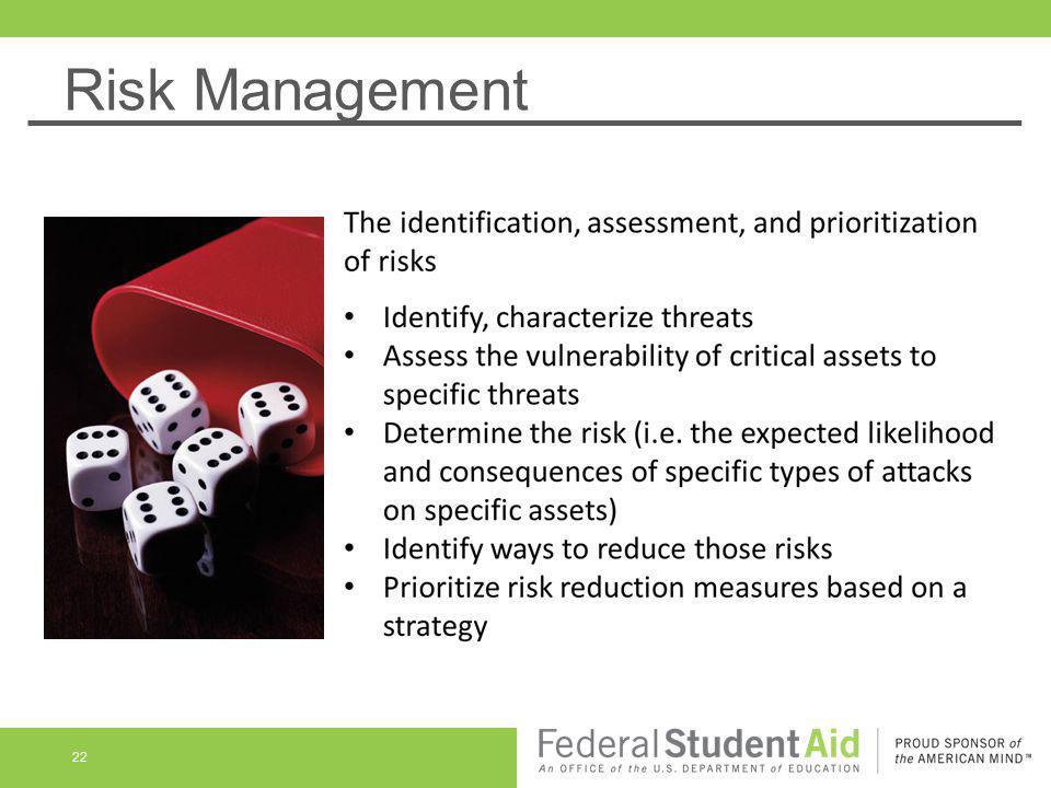 Risk Management 22