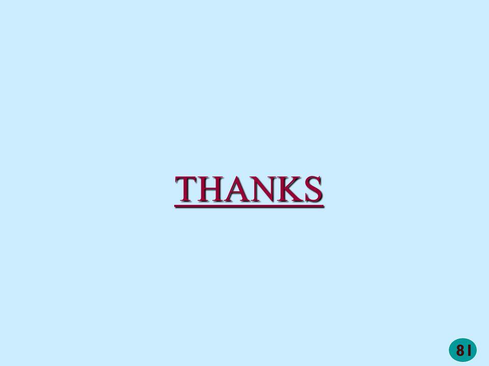 81 THANKS