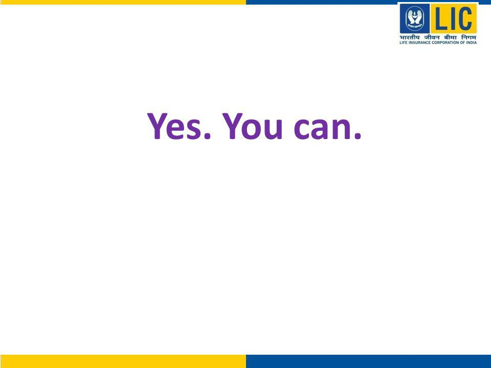 Yes. You can.