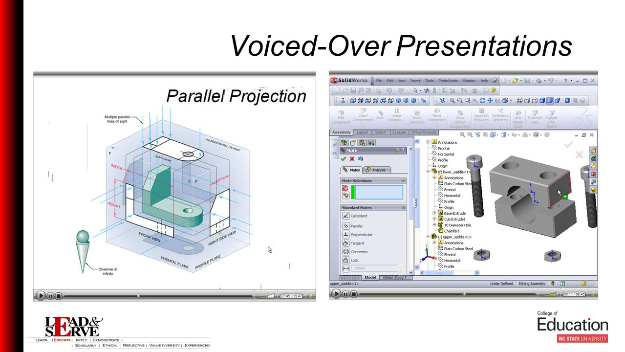 Voiced-Over Presentations