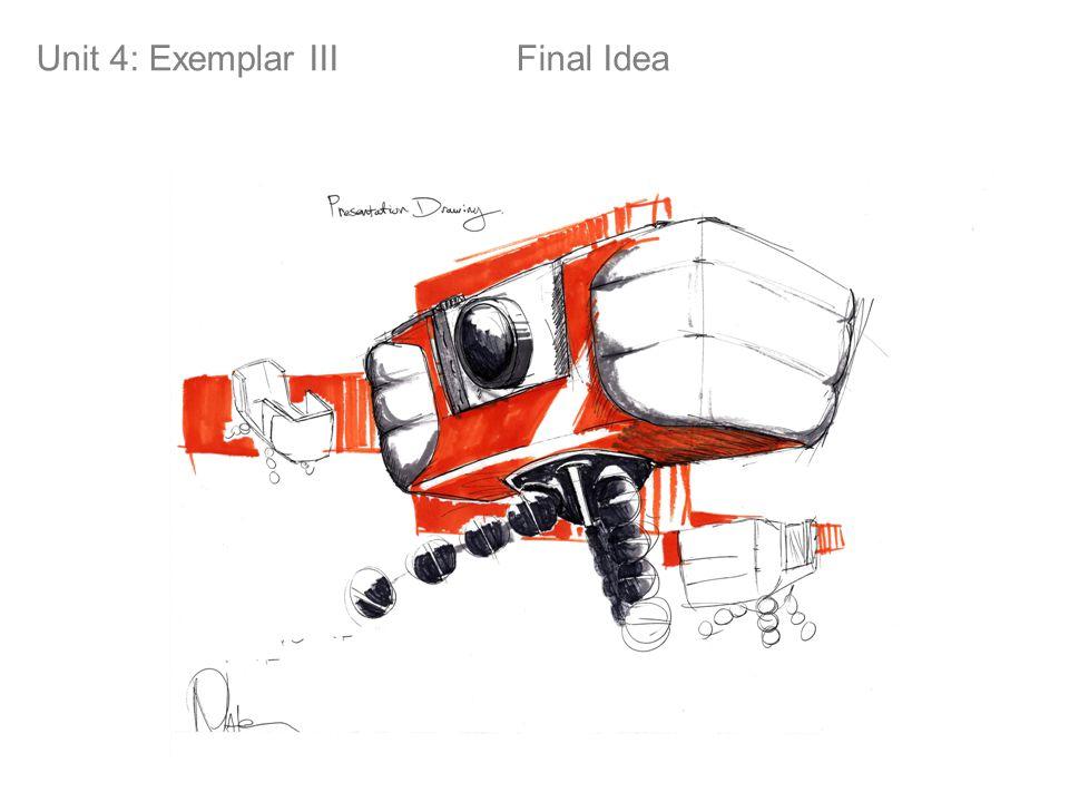 Final Idea! Unit 4: Exemplar III Final Idea