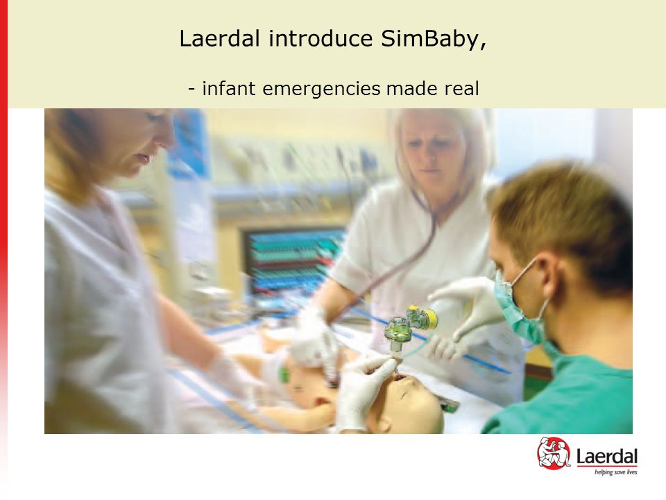 Laerdal introduce SimBaby, - infant emergencies made real