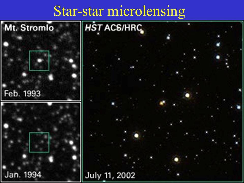 Star-star microlensing