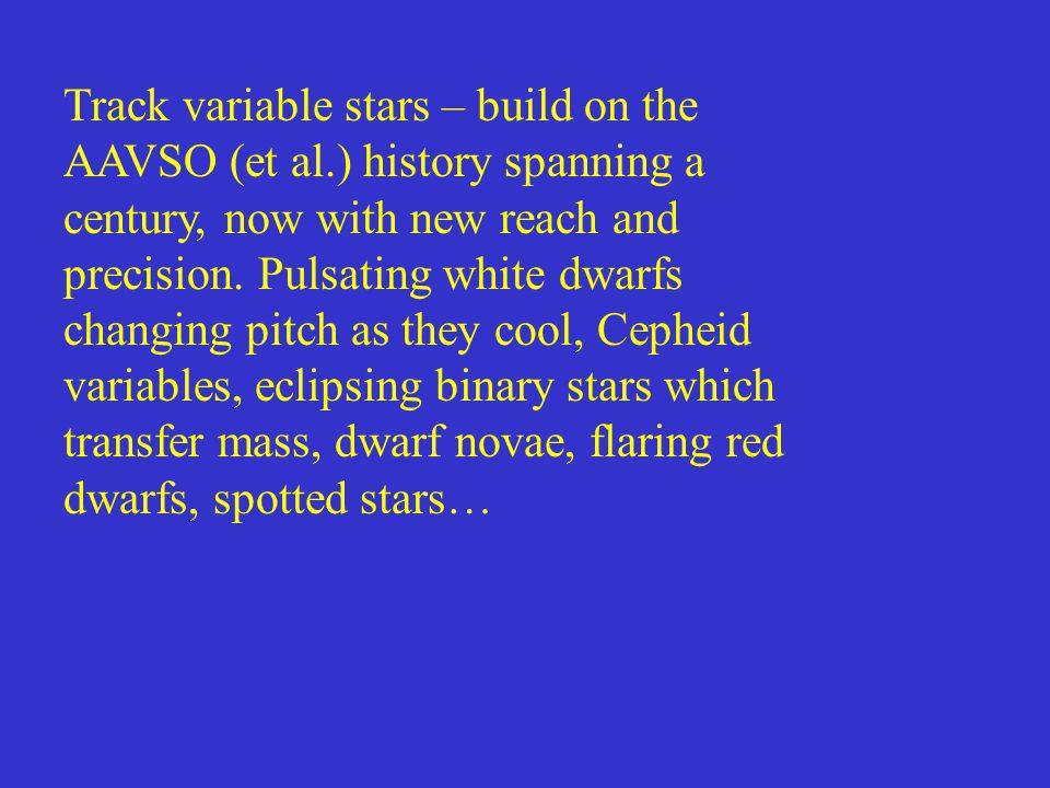 (Brandon Atkins, UA undergrad) 4.8 hour orbital period (Brandon Atkins, UA undergrad) 4.8-hour orbital period UX Ursae Majoris Cataclysmic eclipsing binary (White dwarf+red dwarf)