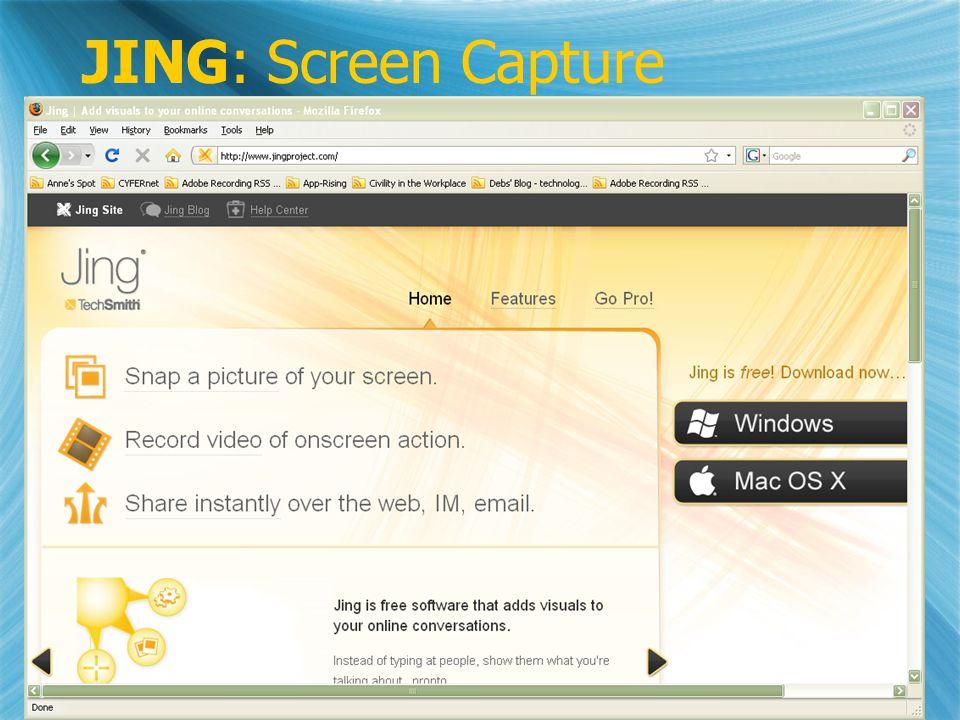 JING: Screen Capture