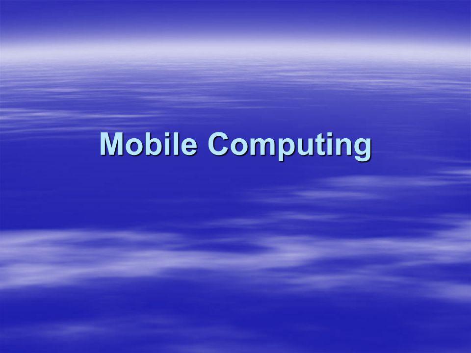 PDA Processors Popular processors: Popular processors: –Motorola DragonBall –Texas Instruments OMAP –Intel XScale Comparing processors: Comparing processors: –Speed –Performance: Benchmarking Benchmarking –Power consumption