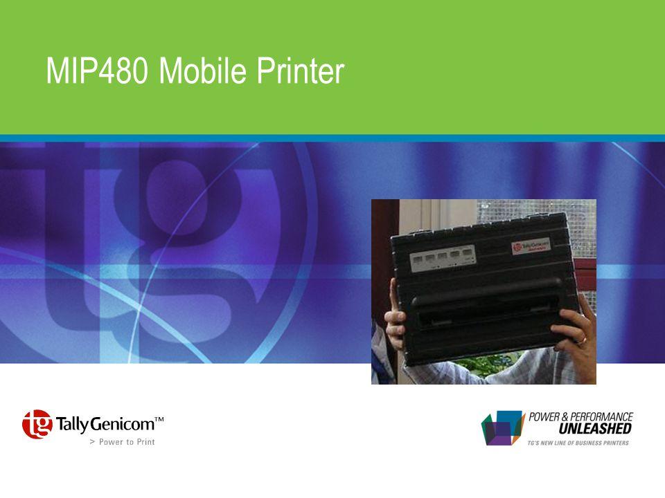 MIP480 Mobile Printer