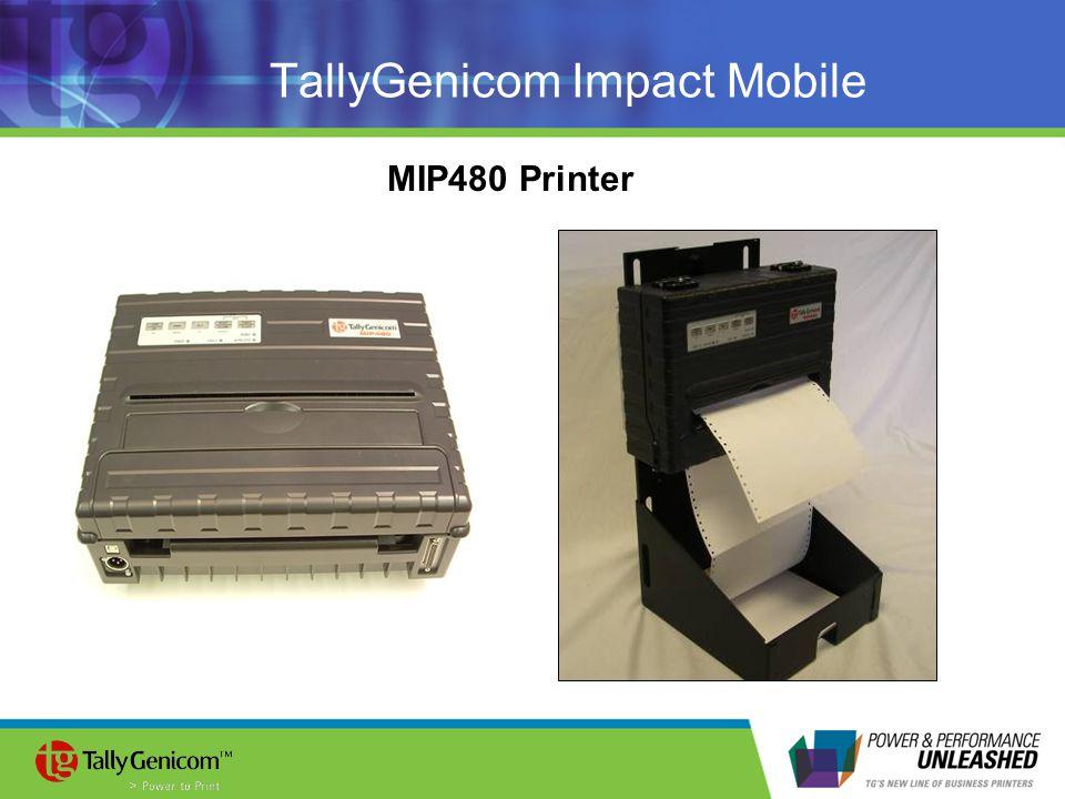 TallyGenicom Impact Mobile MIP480 Printer