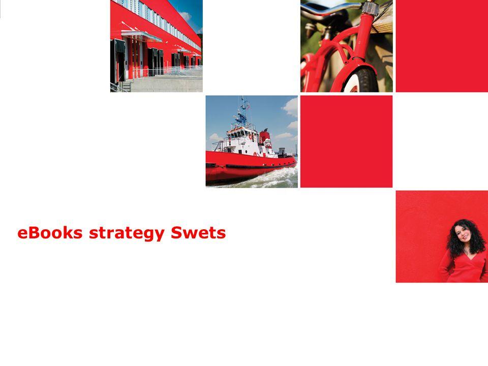 eBooks strategy Swets