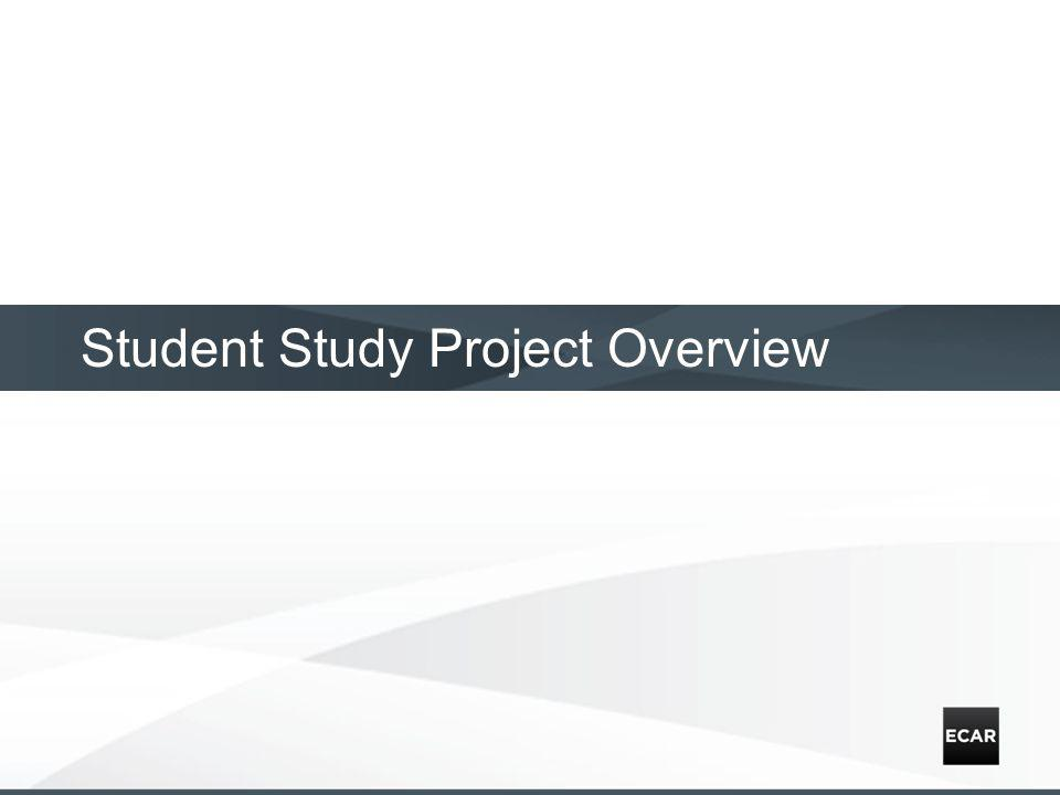 Student Study Project Overview
