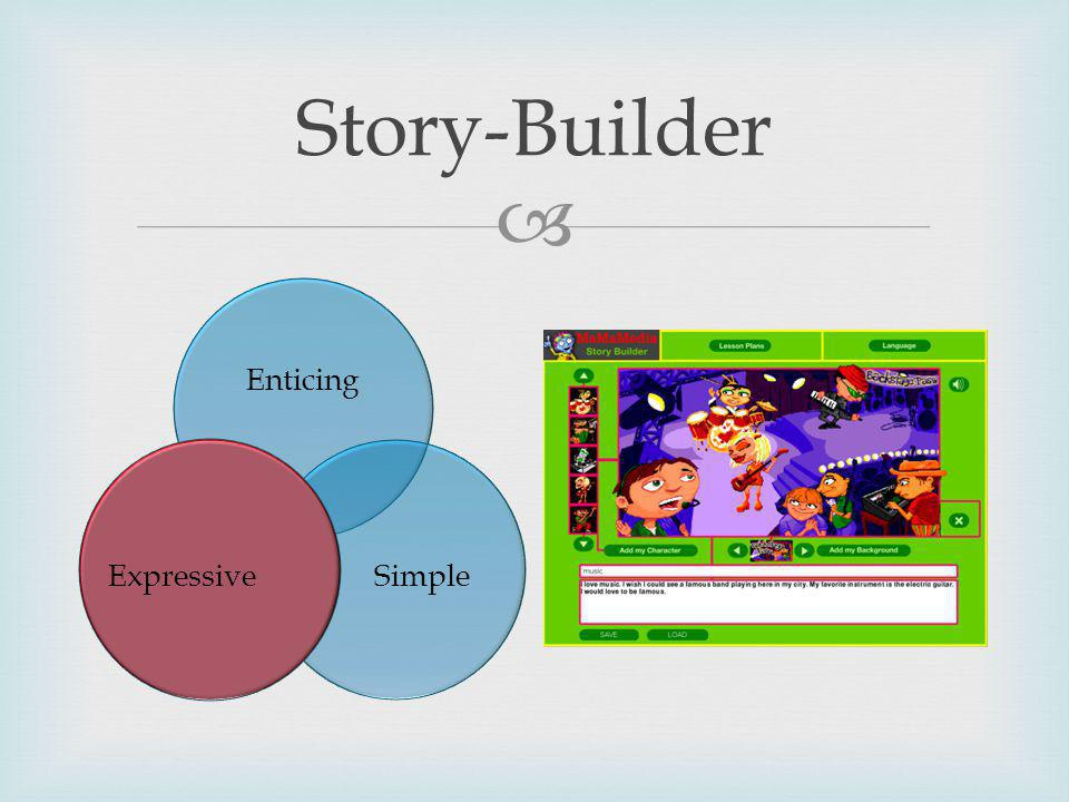 Story-Builder Enticing SimpleExpressive