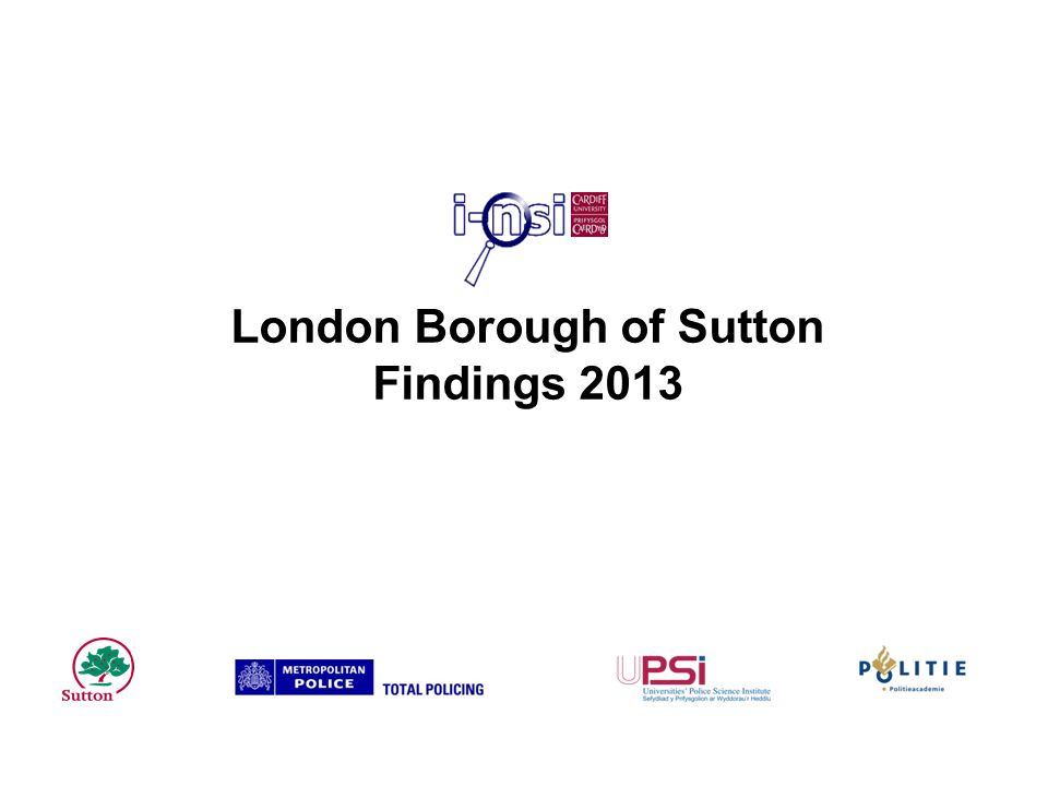 London Borough of Sutton Findings 2013