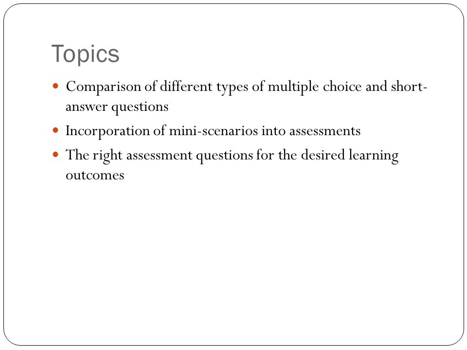 Example #1: Multiple choice a.Which organization began with a focus on management engineering.