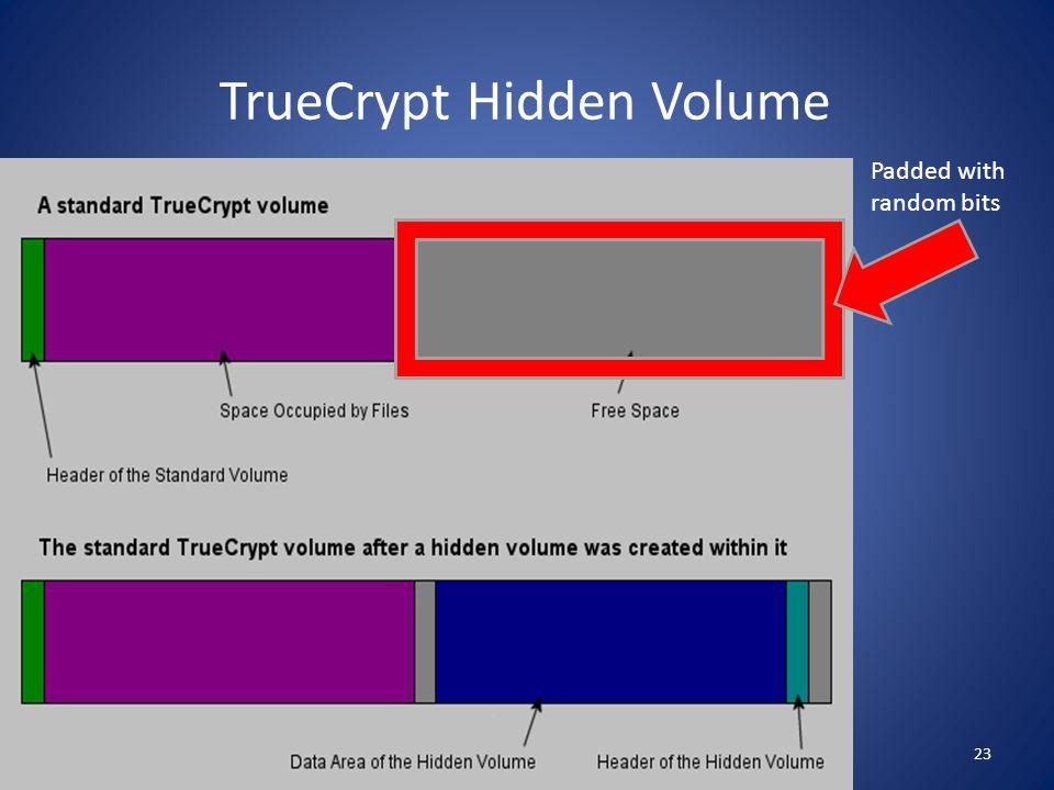 TrueCrypt Hidden Volume Padded with random bits 23