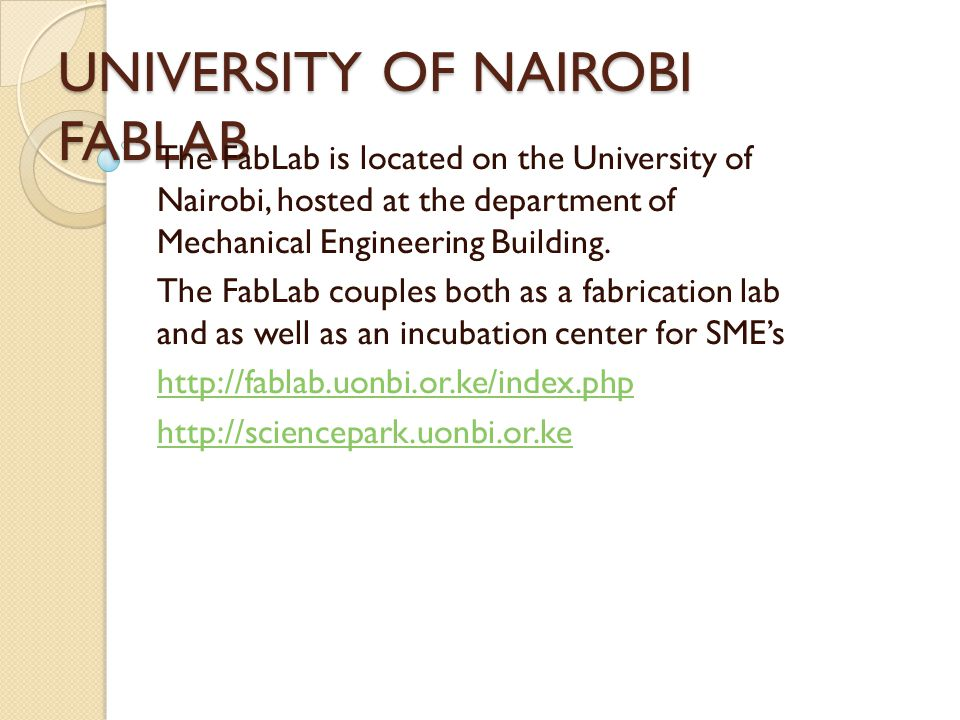 PROJECTS(COMPLETED) Fabfi project- a wireless internet meshing http://www.joinafrica.org/kenya/