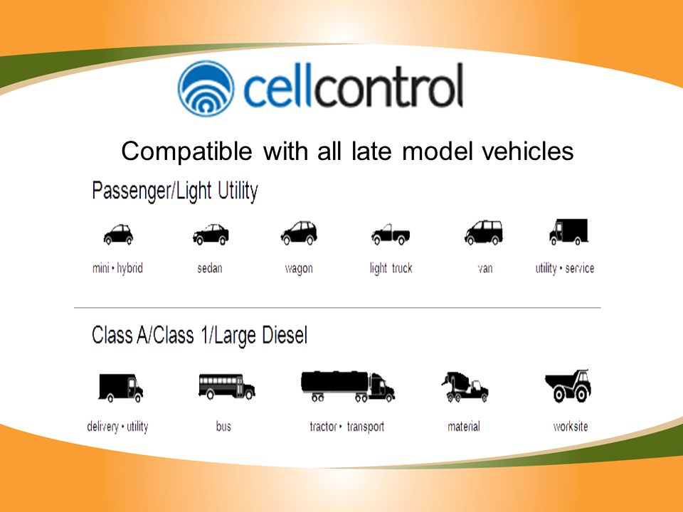 Compatible with all late model vehicles