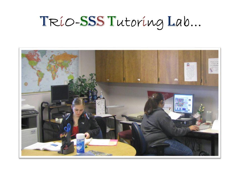 T RiO- SSS T utoring L ab…