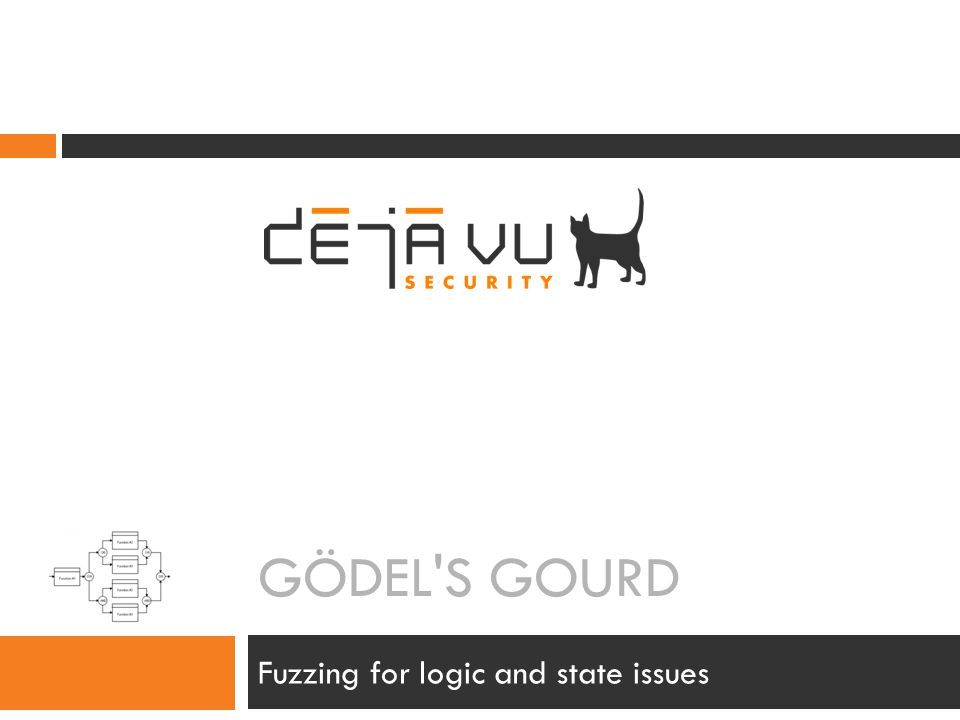 GÖDEL'S GOURD Fuzzing for logic and state issues