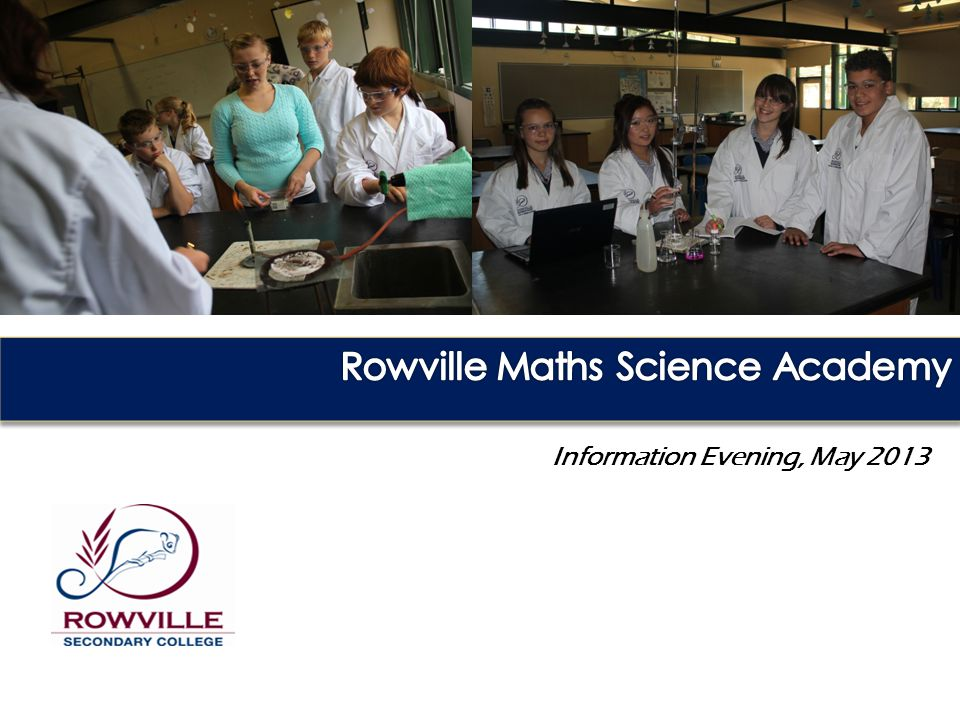 Curriculum Drivers Rowville Maths and Science Academy | Excellence from the beginning