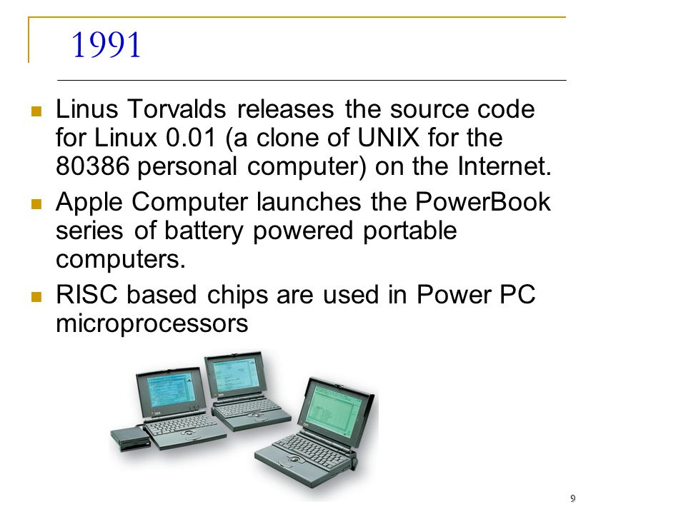 1992 Internet becomes the worlds largest electronic mail network.