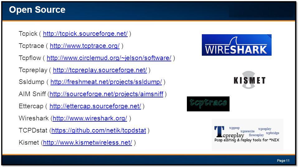 Tcpick ( http://tcpick.sourceforge.net/ )http://tcpick.sourceforge.net/ Tcptrace ( http://www.tcptrace.org/ )http://www.tcptrace.org/ Tcpflow ( http:/