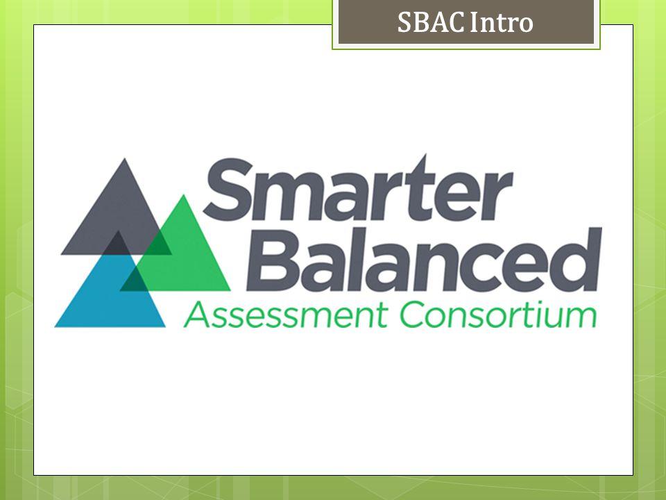 SBAC Intro