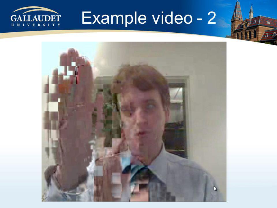 Example video - 2