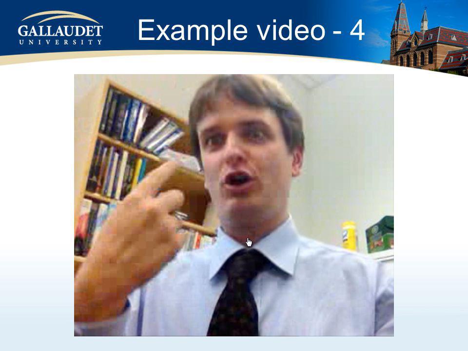 Example video - 4