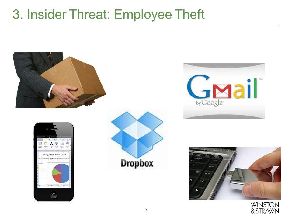 3. Insider Threat: Employee Theft 7