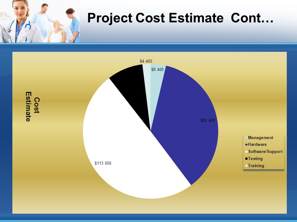 Project Cost Estimate Cont…