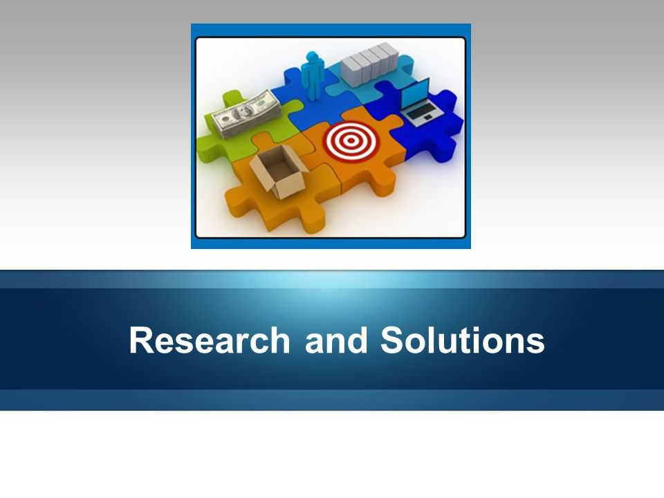 Research and Solutions 14