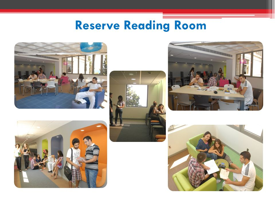Reserve Reading Room