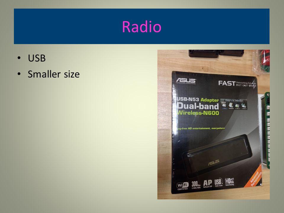 Radio USB Smaller size