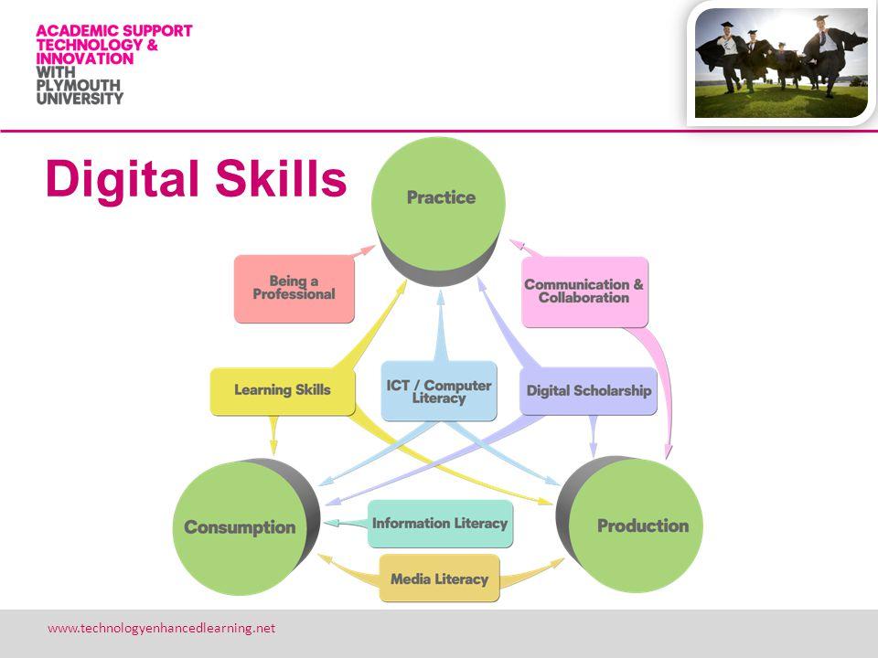 18 www.technologyenhancedlearning.net Digital Skills