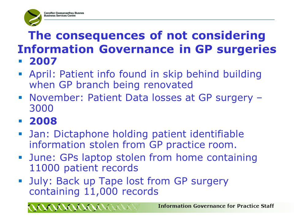 Information Governance for Practice Staff The best person to undertake the role of Caldicott Guardian in my GP surgery is the Practice Manager TRUE or FALSE