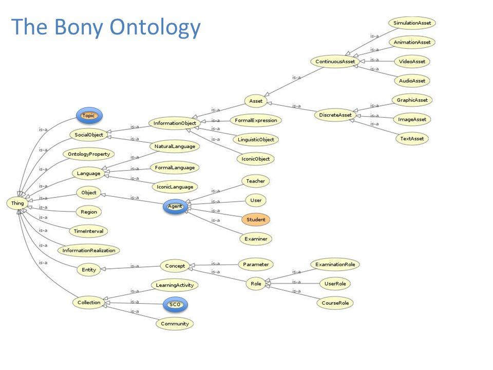 The Bony Ontology