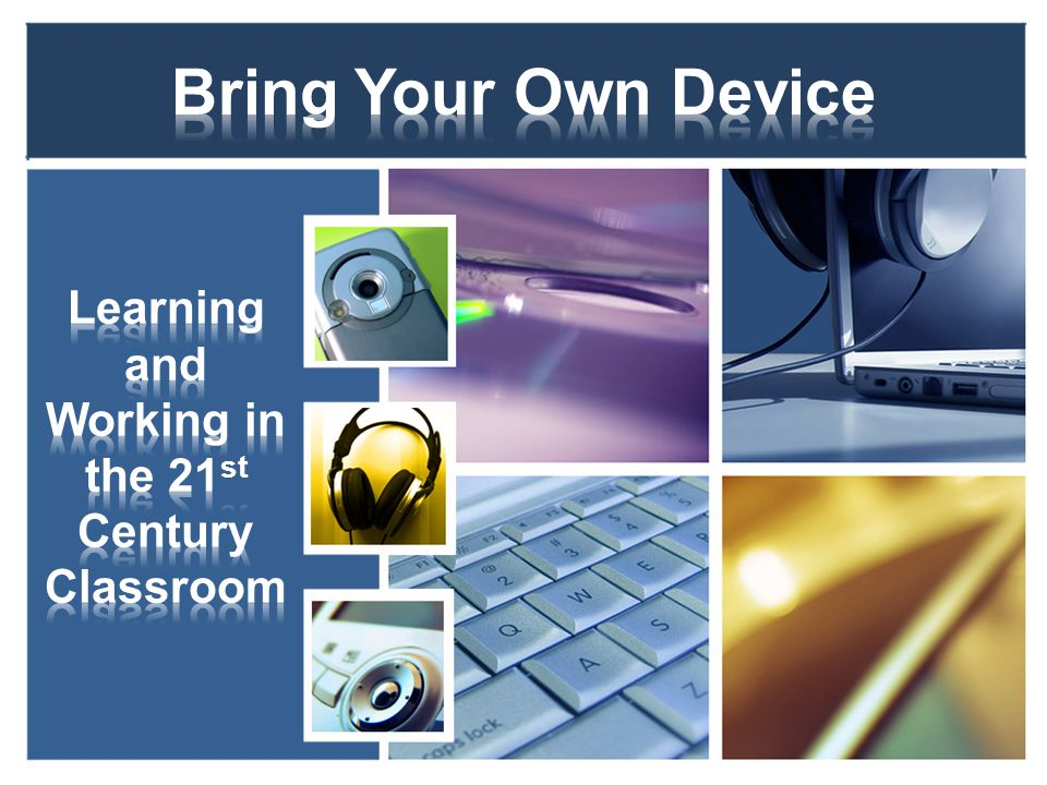 BYOD is simply a program where students can bring their own personal devices on campus and connect them to the new school district wireless network that allows filtered internet access.
