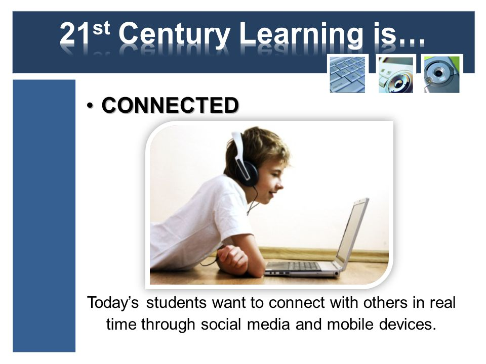 MULTIMEDIA DRIVENMULTIMEDIA DRIVEN T Todays students are equal parts consumer and creator.