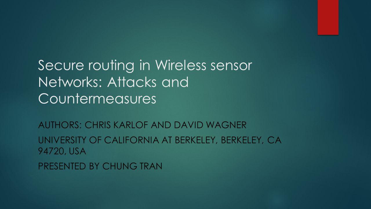 Outline Introduction Background Sensory Network vs.