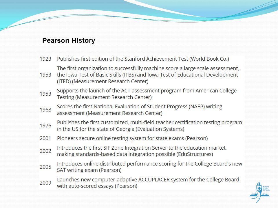 Pearson History