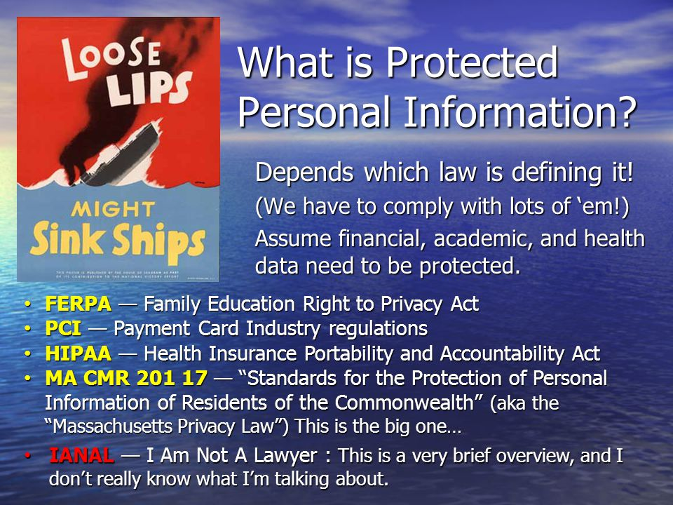 What about your office.Does your office handle legally-protected or confidential information.