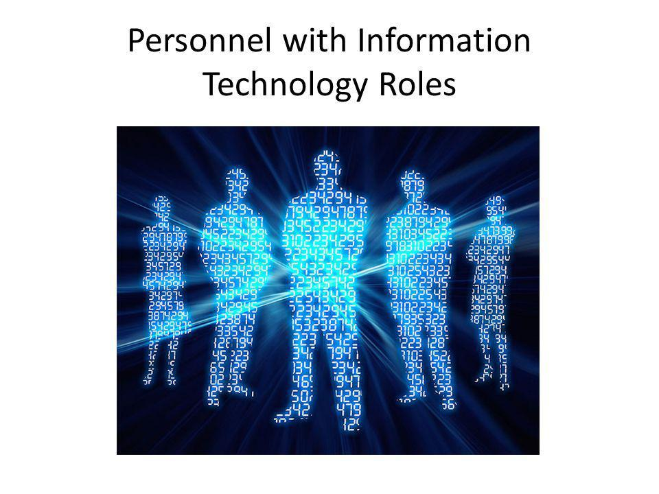 Personnel with Information Technology Roles