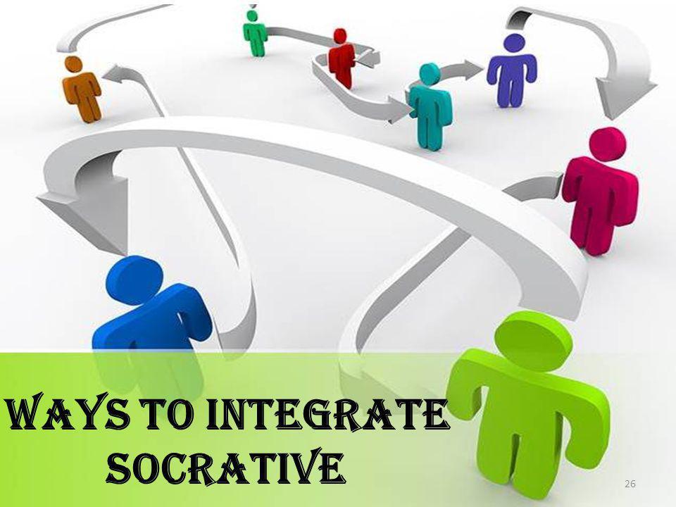 Ways to Integrate Socrative 26